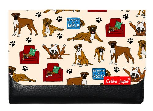 Selina-Jayne Boxer Dog Limited Edition Designer Small Purse